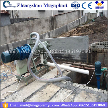 Livestock cow dung manure separator for sale /animal manure squeeze machine