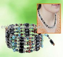 Magnetic Bracelet Wrap bubble necklace