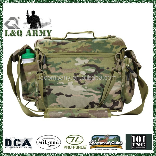 L&Q ARMY Tactical Messenger Bag with Shoulder strap
