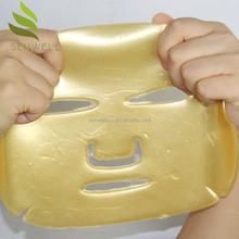 private label face mask crystal collagen gold mask
