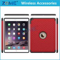 Wholesale New Products Bling Diamond Hybrid PC + Silicone Armor Tablets Cases For iPad Pro