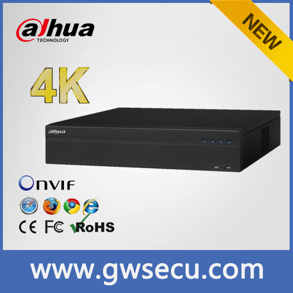 Dahua/alhua NVR608-32-4K 8 HDD 32ch Security camera system Network DVR H 264 Dahua 4K NVR