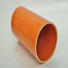 125mm brown cable electric pvc pipe list