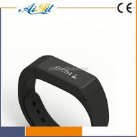 E06 Bluetooth APP supported Fitness sports silicone bracelet or Activity tracker bracelet health sleep monitoring