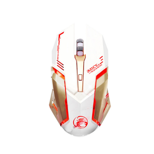 Best selling 4000 DPI LED Optical 6D USB Wired Gaming Game Mouse For PC Laptop Game computer accessories oyun mause