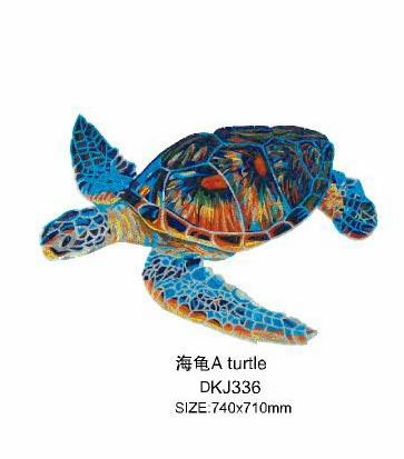 Mosaic tiles with tortoise picture (DKJ336)