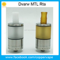 Much airflow capacity 5ml 3.5ml 2.5ml dwarf MTL rta for choice by Coppervape Dwarf (Dvarw)Rta clone