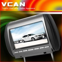 7 inch headrest DVD at low price for clear stock