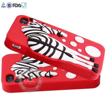 Silicon breast case for iphone 4,iphone case. 3d silicon