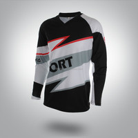 cheap custom sublimation long sleeve jersey for cycling