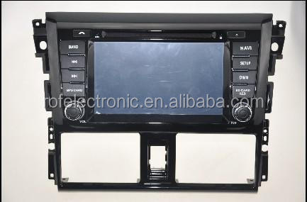 "8"" Car DVD Player with GPS Navigation For TOYOTA VIOS / YARIS Sedan 2013- / Third generation"