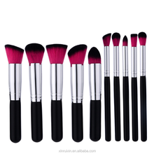 10pcs cosmetic brush set beauty colorful makeup tools set cosmetic make up brushes