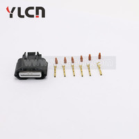 Auto connector and waterproof 6 pin connector female plug