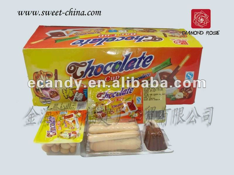 Delicious Chocolate and Biscuit for kids