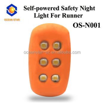 self-powered night jogging light
