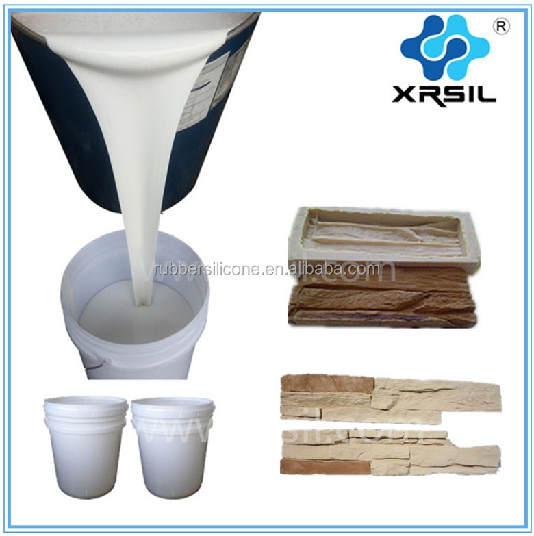 Artificial stone molds making RTV-2 silicone rubber