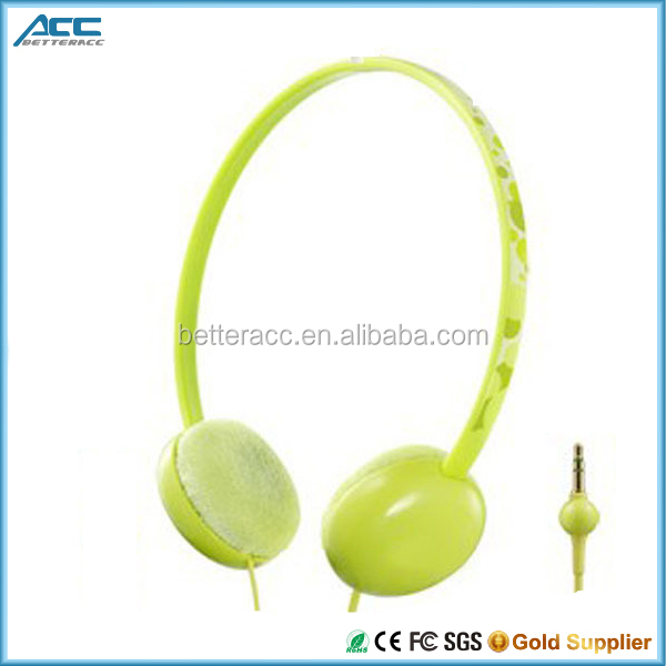 Lovely High Quality Child Headphone with Microphone, Children's Headset for Computer