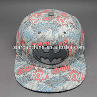 WHOLESALE FITTED BRIM CAP WITH 3D EMBROIDERY