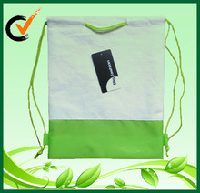 Eco friendly Fashion Designed Bamboo Polyester Backpack Bag