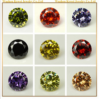 Factory Sell 3mm AAA Grade Round Shape Cubic Zircon