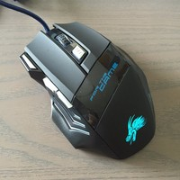 Beautiful LED Dargon Wired Mice Cute Optical Gaming Mouse Animal