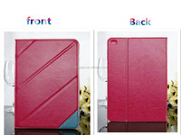wholesale functional protective folder leather case for apple ipad cover case