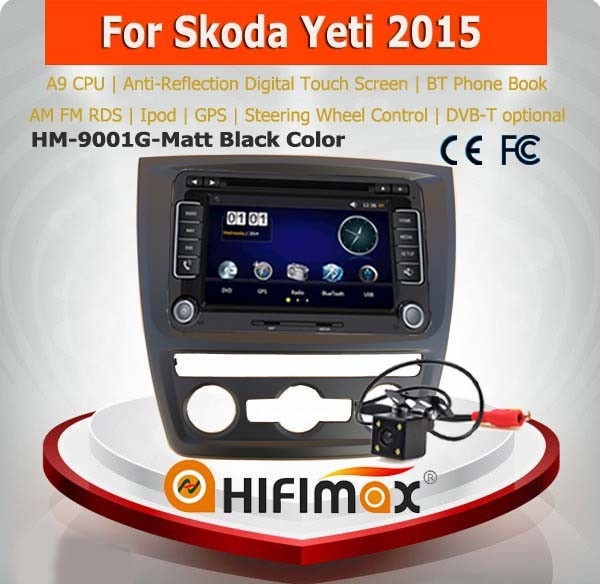 Hifimax skoda yeti gps dvd/skoda yeti car player with gps navigation system/car audio player for skoda yeti 2014 2015