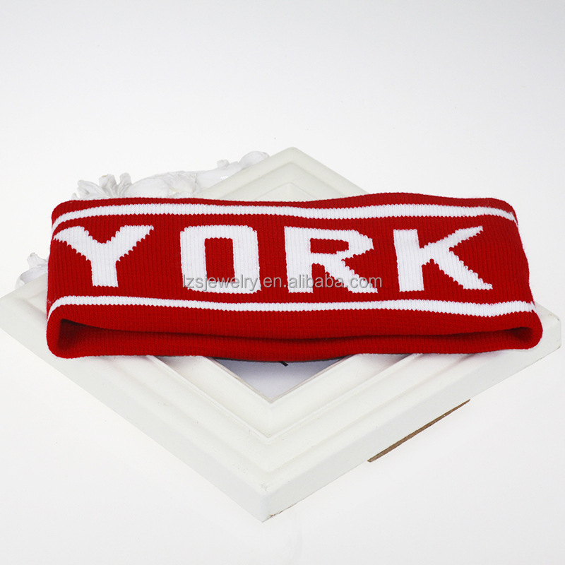 Sport New York Fabric Letters Unisex Headband Snood Sport/Yoga Hairband Multifunctional Hairlace Elastic Wicking Band