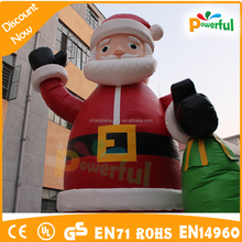 funny inflatable outdoor christmas decoration,inflatable Santa Claus giant inflatable christmas