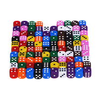 Bulk Dice Wholesale 16MM 6 Sided Colored Dice from Dice Manufacturers