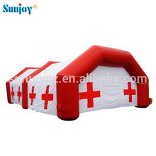 SUNJOY High Quality Hot Selling Waterproof Emergency Hospital Inflatable Medical Tent