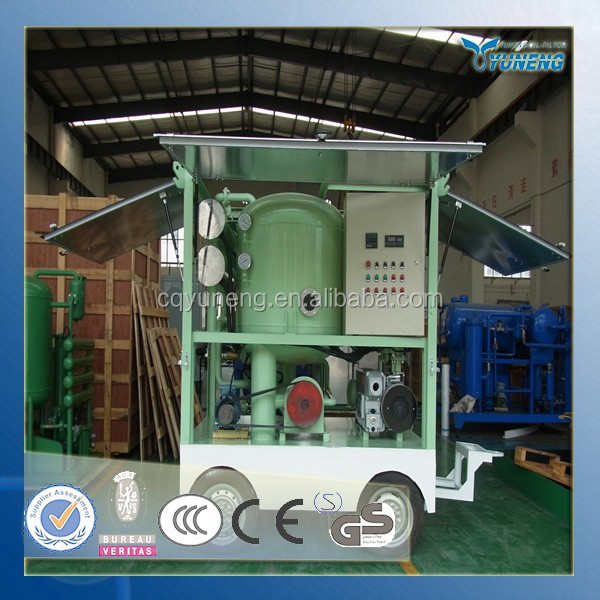 Distribution Transformer Used Insulating Oil Regeneration Machine and Oil Purification System Factory Sales