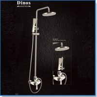 Best price in-wall water saving rain shower head