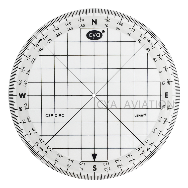 photo relating to Printable Protractor 360 titled Nautical Miles Pilot Pupil Plastic Round Protractor 360 Diploma Map Resource Plotter - Get Spherical Protractor,Pilot Protractor,Protractor Plotter