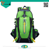 custom outdoor sports backpacks for boy with water bottle holder backpack