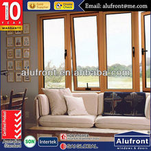 Australian certificated aluminum windows doors with double Low-E glass for commercial and residential