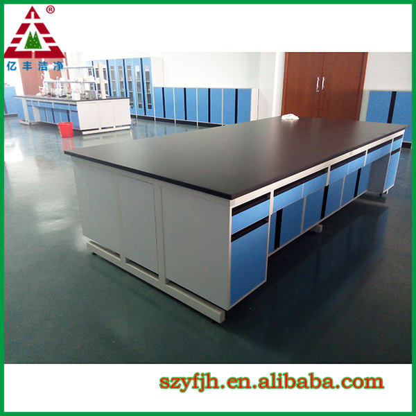 Lab Bench Tops Part - 16: Chemical Resistant Phenolic Island Bench Top Lab Island Bench - Buy Island  Bench,Chemical Laboratory Bench,Epoxy Resin Bench Top Product On Alibaba.com
