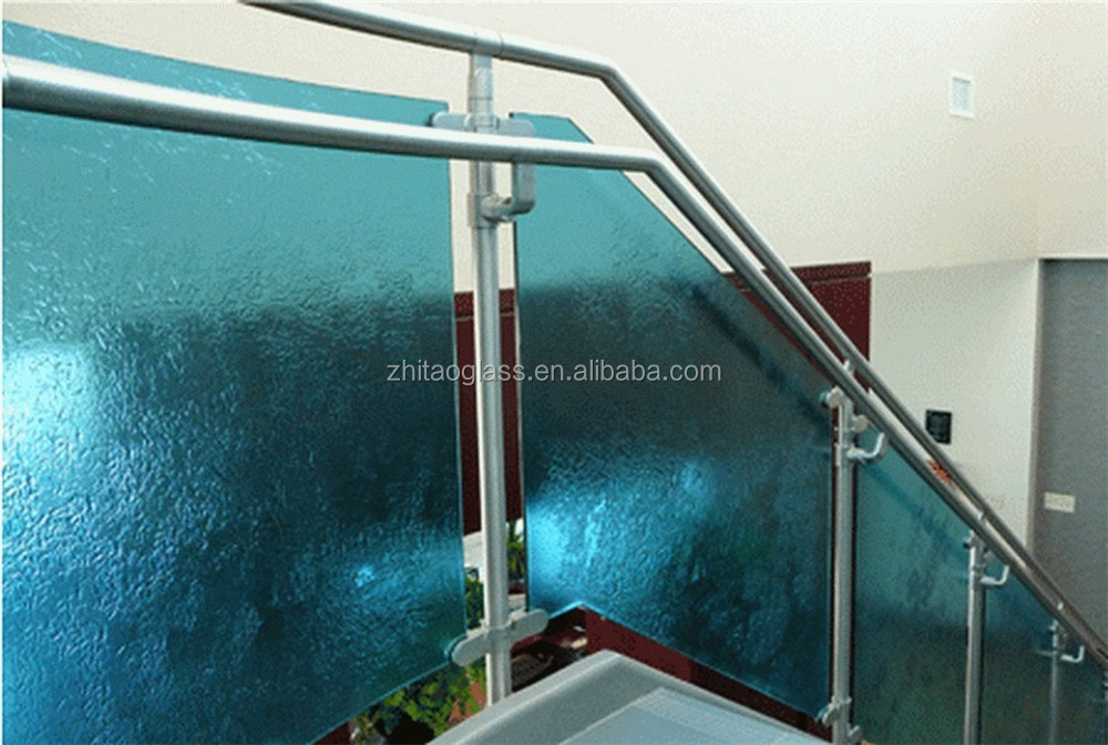 Hotel furniture for bathroom glass vanity cabinet with slab countertop
