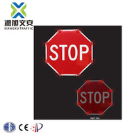 Solar No Parking Warning Speed-limited Traffic Led Direction Sign