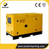 Small Volume And Low Noise Silent Power Wind Generation Remote Start 15kw 400v Diesel Generators Set
