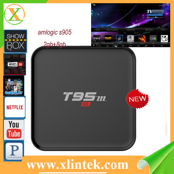 2016 Newest Low Cost T95m Kodi16.0 Hd 1080p T95m 1gb 8gb Wholesale Android Smart Tv Set Top Box