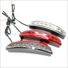 High bright 1.6w led tail light stop/turn led motorcycle light waterproof tail light led for harley
