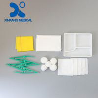 Top quality wound disposable basic dressing set