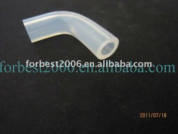 transparent silicone bend tube for USA market