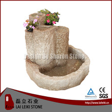 Factory Supply stone fishing boy garden water fountain