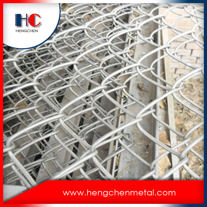 Iso9001 Galvanized Pvc Coated Stainless Steel Wire Mesh Chain Link Fence