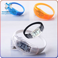 2016 Hot New Products Pre-Programmed Sound Reactive Wristbands For Circulation,led bracelet