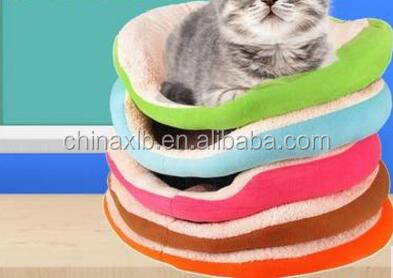 Pet Small Dog Puppy Cat Soft Cotton Cozy Warm Nest Bed Mat House