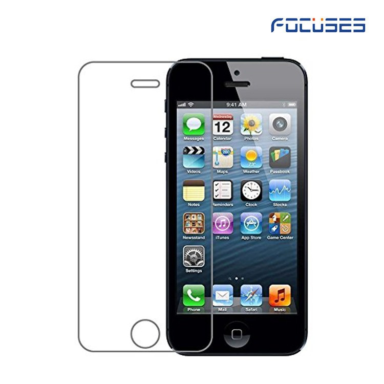 Factory Supplier 9H 0.33mm Anti Scratch Anti-fingerprint for iPhone5/5C/5S/SE Screen Protector