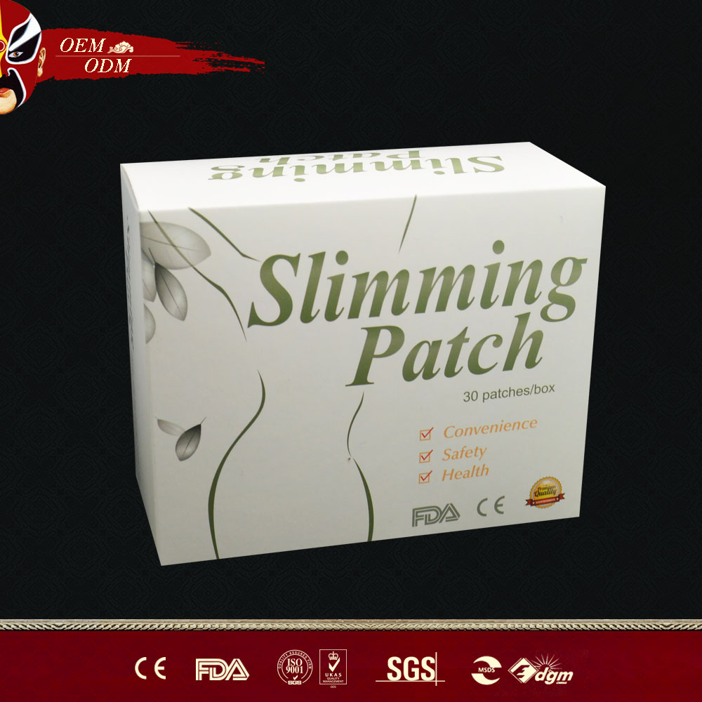100% natural and Chinese Herball slim patch,effective weight loss patch!